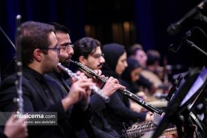 کنسرت «وداع» با اجرای ارکسترملی ایران به رهبری نادر مرتضیپور و خوانندگی حسامالدین سراج - 14 آبان 1397