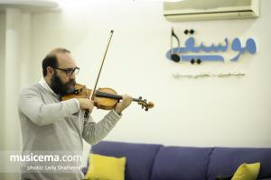 گفت و گو با علی جعفری پویان در دفتر سایت موسیقی ما - بهمن 1396