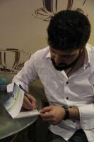 مراسم رونمایی از کتاب « یه مدت میخوام» اثر «عرفان سلیمی»