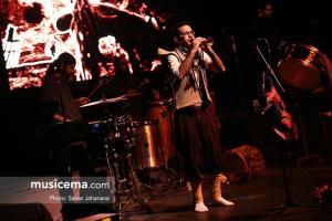 کنسرت کاکوبند در جشنواره موسیقی فجر - 24 دی 1395