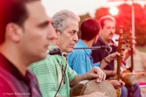 اجرای کامکارها در شبهای موسیقی بارانا - کرمانشاه - 25 شهریور 1395