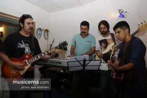 تمرین کامران تفتی و گروهش برای کنسرت ششم مهر - 31 شهریور 1395
