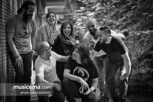 تمرین کاوه یغمایی و گروهش برای کنسرت - تیر 1396