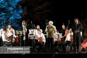 اجرای لوریس چکناواریان با همراهی میترا حجار در فستیوال بارانا - 28 مرداد 1395