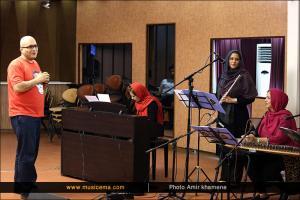 تمرین کنسرت گروه «نوشه» به سرپرستی «نیوشا بریمانی» - شهریور 1394