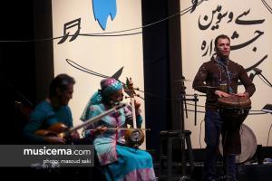 کنسرت گروه رستاک - سی و سومین جشنواره موسیقی فجر - 23 دی 1396