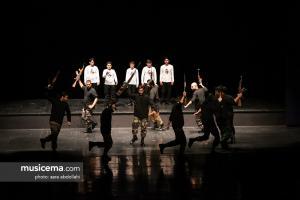 مراسم اجرای سرود-نمایش «بزرگ راه» و رونمایی از آلبوم سرود سرداران شهید - 19 شهریور 1397
