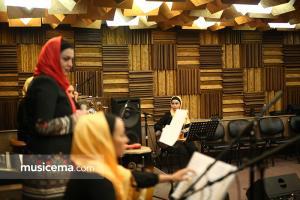 تمرین گروه صبا محمدی برای کنسرت 24 اردیبهشت