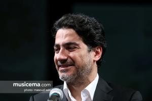 مراسم رونمایی از آلبوم «ایران من» ؛ همایون شجریان و سهراب پورناظری