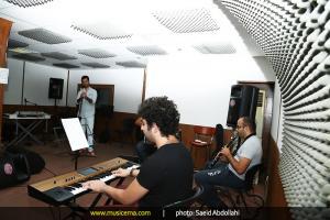 تمرین شهاب رمضان و گروهش برای کنسرت خرداد 1394