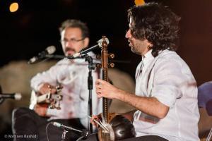 Shams%20 %20Barana%20Kermanshah%2095 06 29%20%281%29 یادی از بزرگان موسیقی کرمانشاه در کنسرت شمس بیستون+ عکس