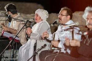 Shams%20 %20Barana%20Kermanshah%2095 06 29%20%2816%29 یادی از بزرگان موسیقی کرمانشاه در کنسرت شمس بیستون+ عکس