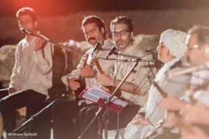 Shams%20 %20Barana%20Kermanshah%2095 06 29%20%2819%29 یادی از بزرگان موسیقی کرمانشاه در کنسرت شمس بیستون+ عکس