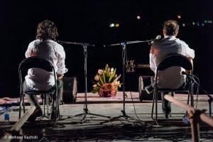 Shams%20 %20Barana%20Kermanshah%2095 06 29%20%2820%29 یادی از بزرگان موسیقی کرمانشاه در کنسرت شمس بیستون+ عکس