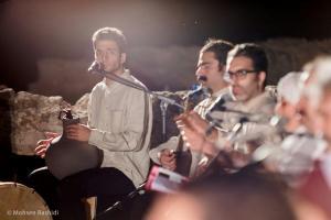 Shams%20 %20Barana%20Kermanshah%2095 06 29%20%2827%29 یادی از بزرگان موسیقی کرمانشاه در کنسرت شمس بیستون+ عکس