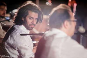 Shams%20 %20Barana%20Kermanshah%2095 06 29%20%283%29 یادی از بزرگان موسیقی کرمانشاه در کنسرت شمس بیستون+ عکس
