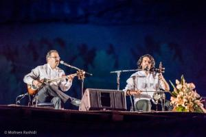 Shams%20 %20Barana%20Kermanshah%2095 06 29%20%285%29 یادی از بزرگان موسیقی کرمانشاه در کنسرت شمس بیستون+ عکس