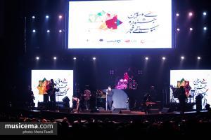 کنسرت سینا شعبانخانی - سی و سومین جشنواره موسیقی فجر - 24 دی 1396