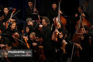کنسرت ارکستر سمفونیک تهران به رهبری شهرداد روحانی - اسفند 1396