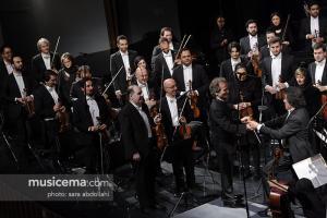 کنسرت ارکستر سمفونیک تهران و ایتالیا در جشنواره موسیقی فجر - 30 دی 1395