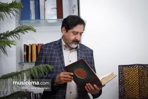گفت و گو با «حسامالدین سراج» در دفتر سایت «موسیقی ما» - خرداد 1396