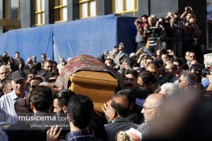 مراسم تشییع پیکر استاد «فرهنگ شریف» - 20 شهریور 1395