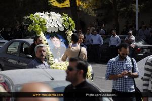 مراسم هفتمین روز درگذشت حبیب محبیان - 30 خرداد 1395