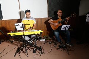 تمرین کنسرت علی عبدالمالکی - خرداد 1394