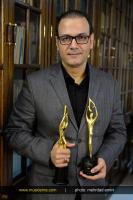 علیرضا قربانی و تندیس طلایی سومین جشن سالانه موسیقی ما