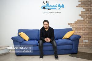 گفت و گو با امیر جمالفرد در دفتر سایت «موسیقی ما» - شهریور 1396