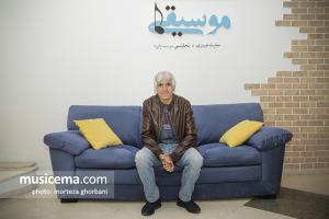 غلام علمشاهی - گفت وگو در دفتر سایت موسیقی ما