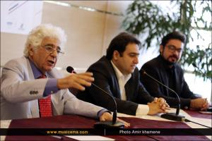 نشست خبری «شب آهنگسازان ایرانی» - شب لوریس چکناواریان