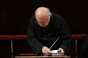 تمرین کنسرت ارکستر مهرنوازان