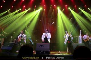 کنسرت گروه سون - مرداد 1394