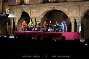 اولین فستیوال موسیقی تهران - کنسرت حسین علیزاده و گروه هم آوایان
