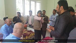 بازدید محمد علیزاده از مرکز توانبخشی جانبازان مشهد - 6 اردیبهشت 1395