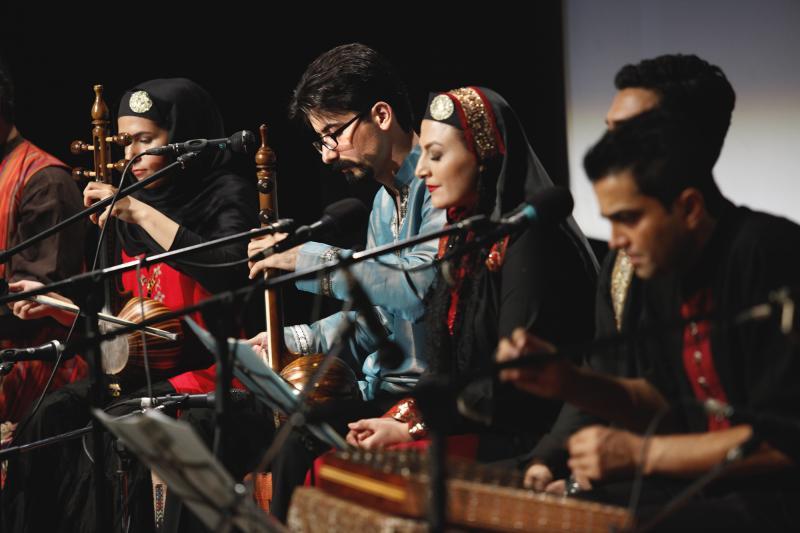 گروه موسیقی سایه سار سنتی خواننده زن