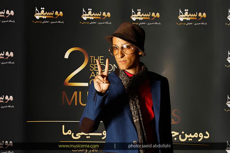 عکسهای مرتضی پاشایی در جشن سالانه موسیقی ما