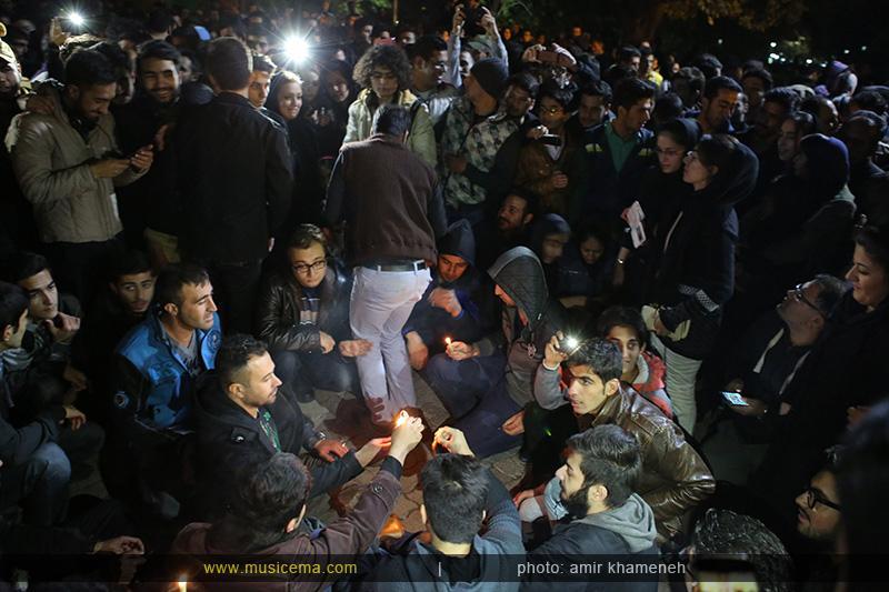 aaa %2820%29 13 تجمع هواداران مرتضی پاشایی در شهر های مختلف / تمام ایران ترانههای «مرتضی پاشایی» را خواندند + عکس