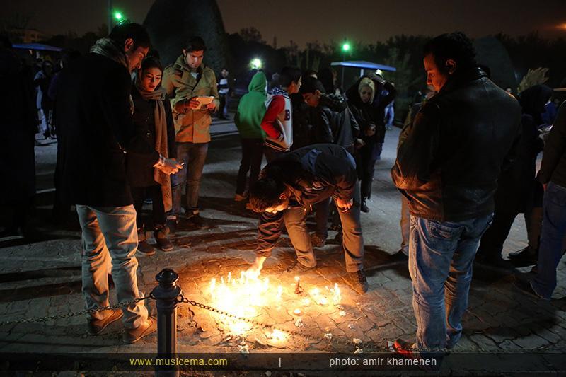 c %282%29 1 تجمع هواداران مرتضی پاشایی در شهر های مختلف / تمام ایران ترانههای «مرتضی پاشایی» را خواندند + عکس